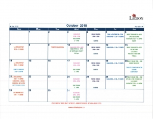 2018 October Calendar rot 90_Page_1