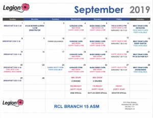 2019 08 28 September Calendar rot